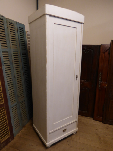 Vintage French Cupboard / Hall Cupboard / Small Armoire